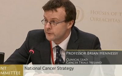 Cancer Trials Ireland at Joint Committee on Health
