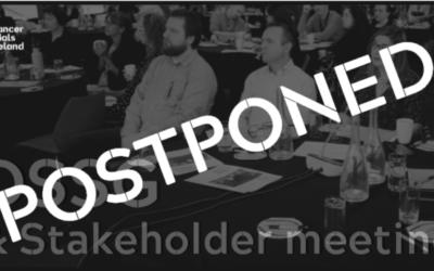 POSTPONED: DSSG & Stakeholder Meetings