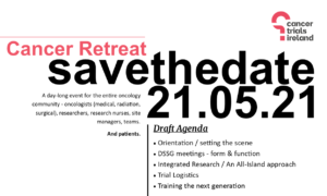 Save the date: Cancer Retreat, May 21st